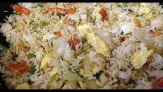 How To Make Vegetable Egg Fried Rice