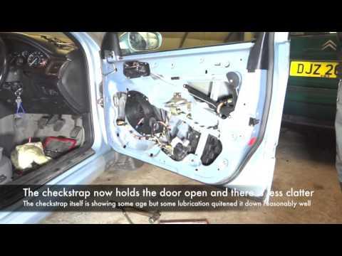 Peugeot 607 Checkstrap Repair
