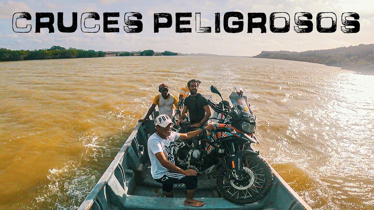 RIESGOS, PELIGROS y AVENTURAS en PUNTA GALLINAS 🐔 LA GUAJIRA, COLOMBIA  E127 Vuelta al Mundo Moto
