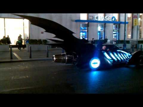 Arthur (2011) - Batmobile in New York City