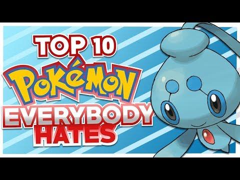 Top 10 Pokemon Everyone Hates Feat. HoopsandHipHop