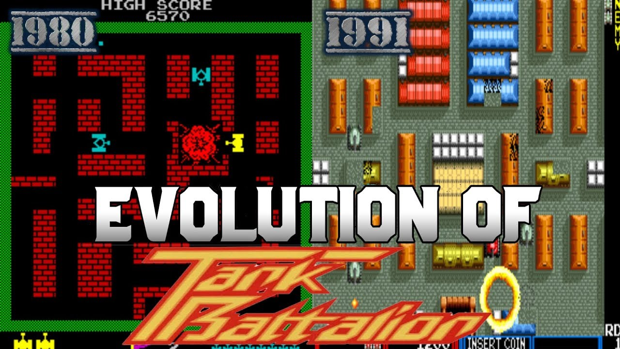 Graphical Evolution of Tank Battalion (1980-1991)