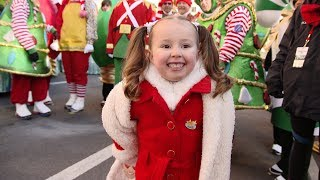 Brielle Walks in the Macy's Thanksgiving Day Parade