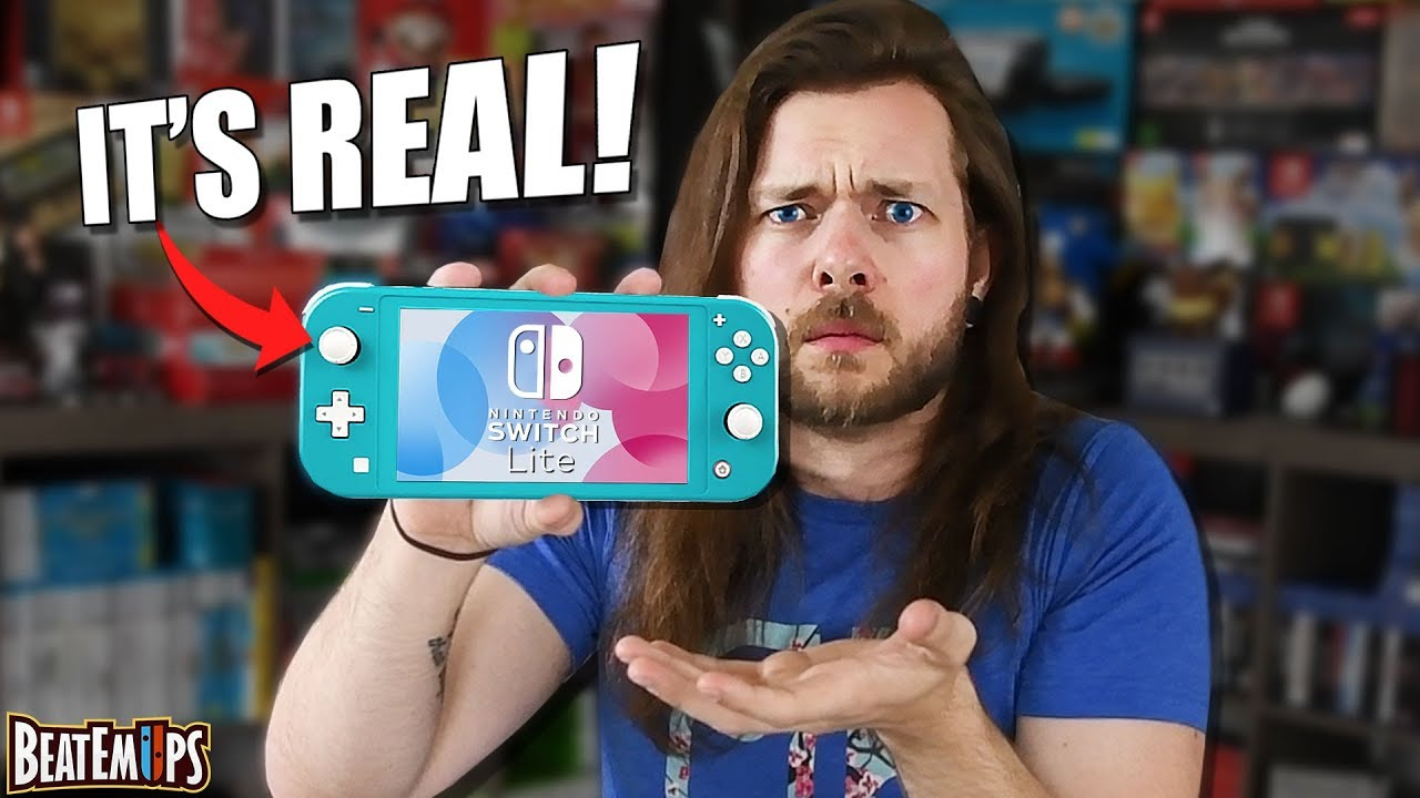 Ok, let's talk about this NEW Nintendo Switch Lite. image