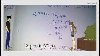 Episode 8 Microéconomie S1 La Production TMST et Le rendement d'échelle darija marocaine