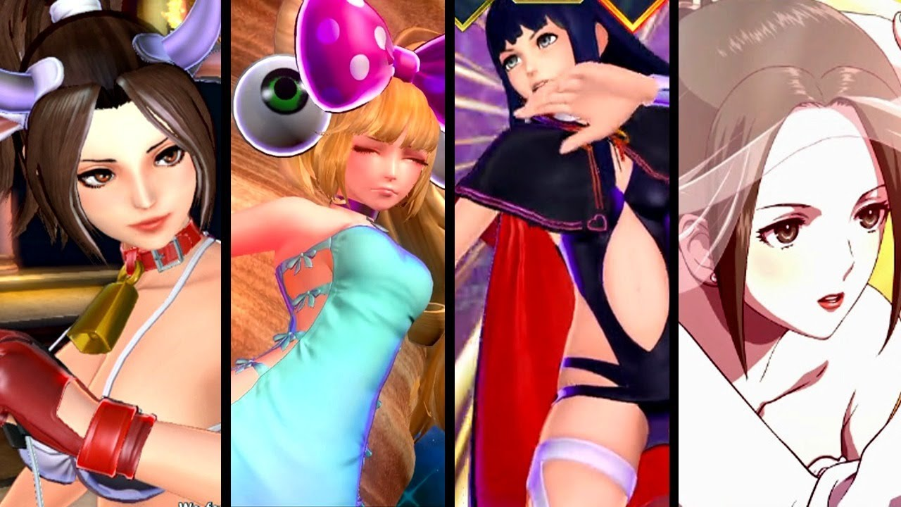 SNK Heroines ALL CUTSCENES - Story Mode (Switch)