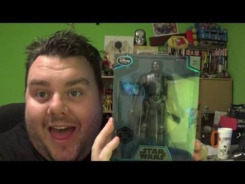 Star Wars Rogue One Elite Series K-2SO Die-Cast Action Figure Unboxing Review