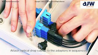 Fiber Optic Termination Box(Distribution Box) : OTP-A Installation Manual