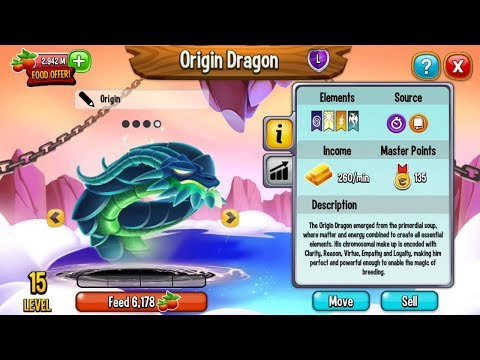 Dragon City | Feed Origin Dragon and Animation Preview