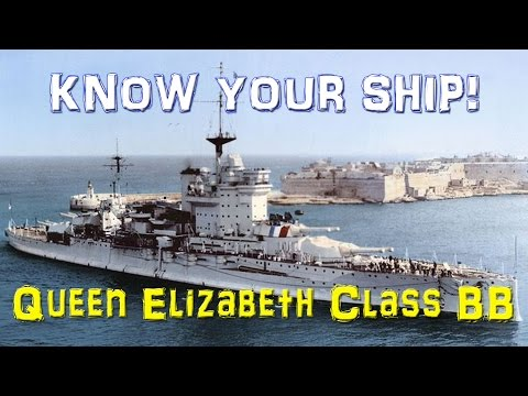 World of Warships - Know Your Ship #8 - Queen Elizabeth Class Battleship