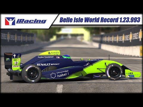 World Record Formula Renault Detroit Belle Isle Hot Lap Time Trial.