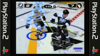 Playstation 2 - NHL Hitz 20-02 Game play