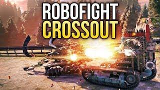 Crossout Robofight: КОВБОЙ vs АДСКАЯ КРЫСА