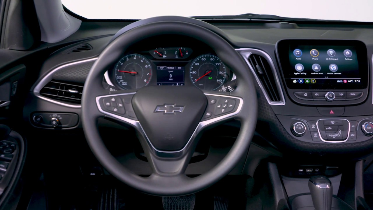 2019 Chevrolet Malibu Interior - Premier & RS - YouTube