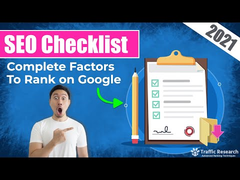 Ultimate SEO Checklist 2019 - 72 Must-Have Items For A High Google Ranking Website