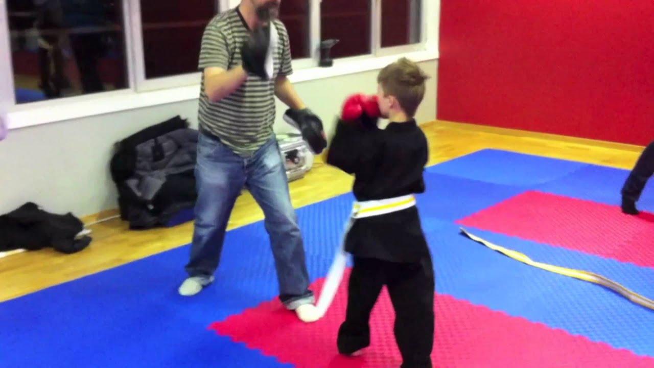 kampsport for barn