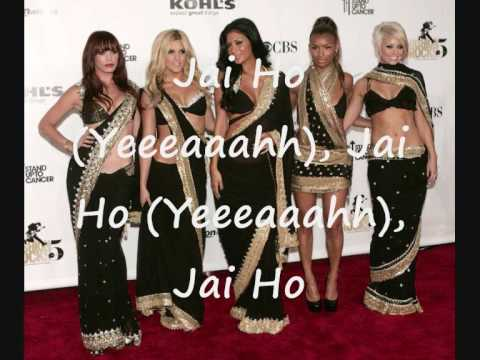 Pussycat Dolls- Jai Ho (Slumdog millionaire with lyrics)