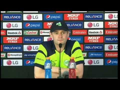 Live Post Match Press Conference : WEST INDIES VS IRELAND