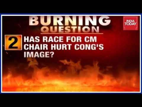 Race For CM Chair In 3 States Hurting Congress' Image? | The Burning Question