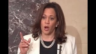 Kamala Harris HUMILIATES Trump & His Lackeys for Their Trumpcare Tactics in #HoldtheFloor Speech