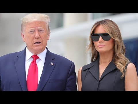 Donald Trump Appears To Tell Melania To Smile In Front Of The Media