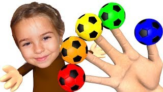 Learn Colors with Surprise Soccer Balls #h - Magic Liquids for Children Toddlers