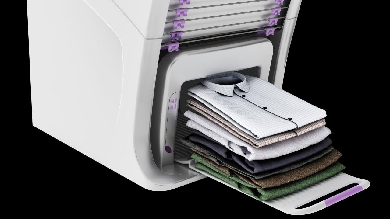 1a641b2a66d This Pricey Machine Will Fold Your Laundry For You - YouTube