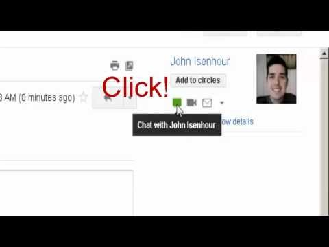 Inviting Someone To Chat Google Email