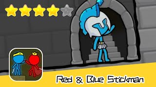 Red and Blue Stickman : Animation Parkour Day21 Walkthrough Recommend index four stars
