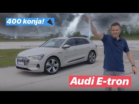 Prvo pa muško! - Audi E-tron. Testirao Juraj Šebalj