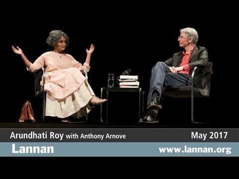 Arundhati Roy with Anthony Arnove, Conversation, 3 May 2017
