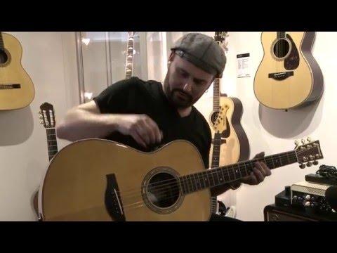 Yamaha TRANSACOUSTIC GUITARS - presented by Dave Goodman @ Musikmesse 2016