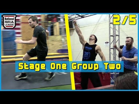 Stage 1 Part 6 (Mike Bernardo, Perry Oosterlee)【National Ninja League Season 3 Finals】