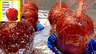 How To Make Concord Foods Candy Apple Kit |  Delicious Red Candy Apples