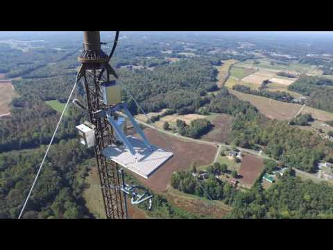 DJI Inspire - Drone Tower Inspection