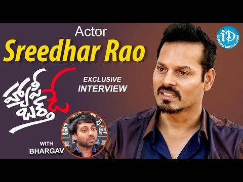 Actor / Model Sreedhar Rao Exclusive Interview | Talking Movies With iDream | #HappyBirthday #338