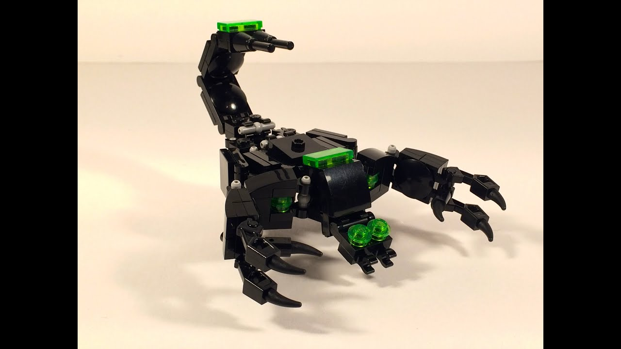 Lego Transformers By M1ndxbend3r Scorpion 20 Youtube