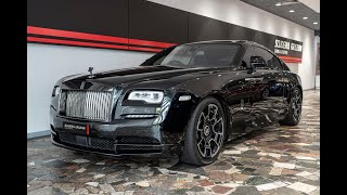"2017 Rolls Royce Wraith ""Black Badge"" ~ Limited Edition"
