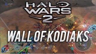 Wall of Kodiaks   Halo Wars 2 Multiplayer