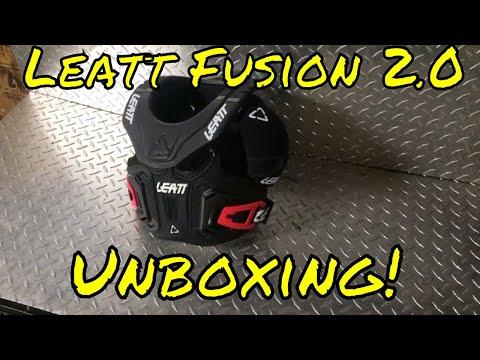Leatt Youth Fusion 2.0 Junior Vest-Black-YL//YXL