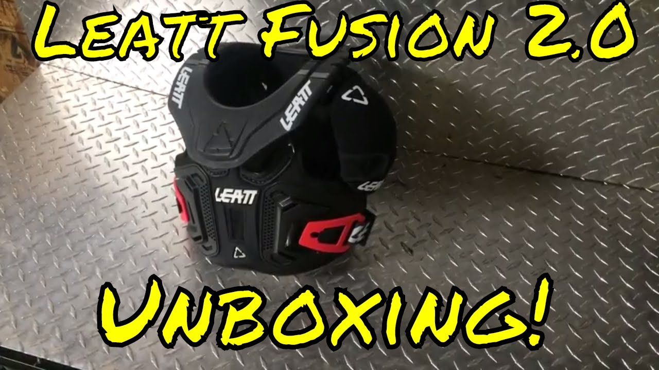 Leatt Fusion 2.0 Junior//Youth Body Protector Black