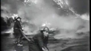 Tire Fire 1954 Toronto Canada