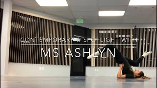 Instructional Contemporary Routine