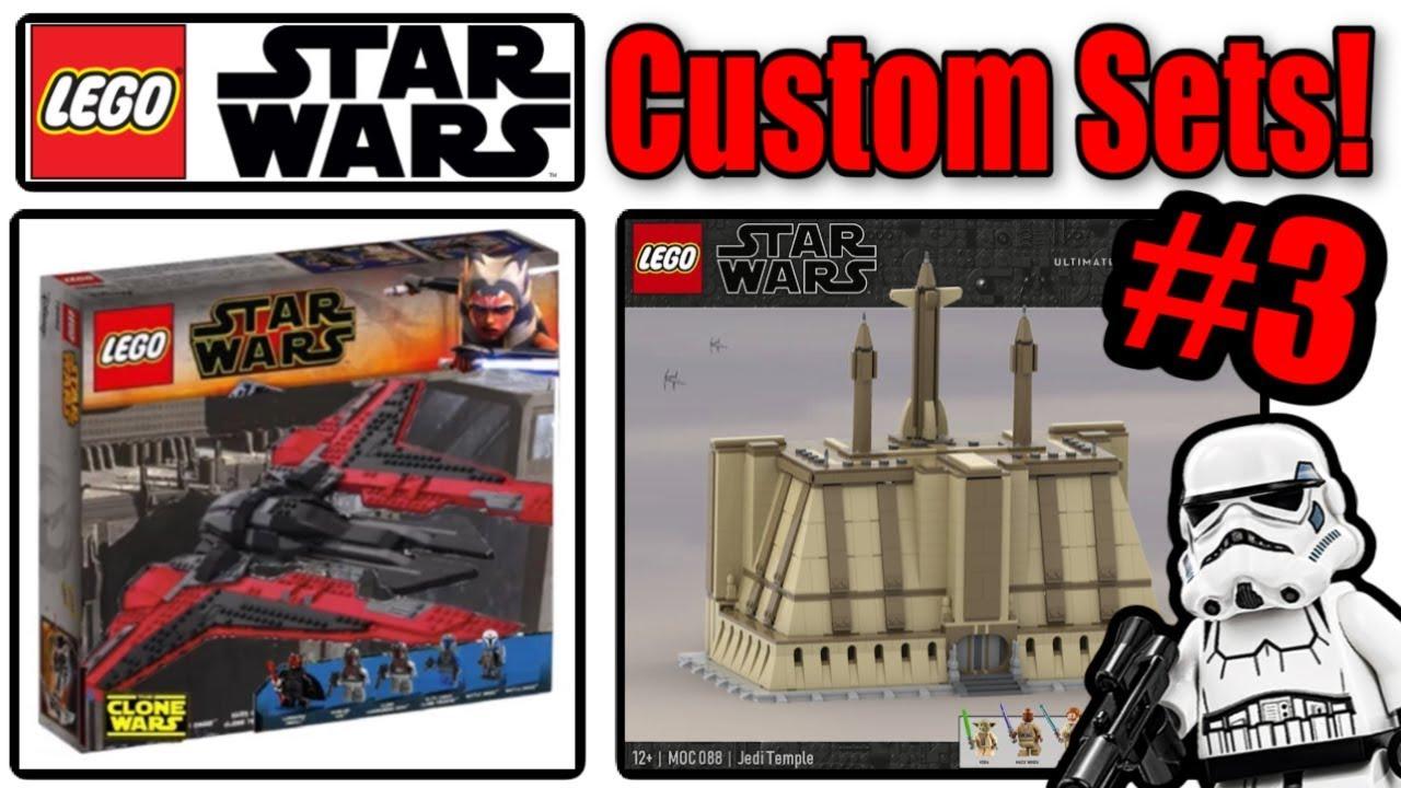Crazy Custom LEGO Star Wars Sets #3 (2021 Clone Wars, 40th ...
