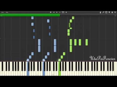 Synthesia Starish  Maji Love 2000% Piano Uta no Princesama