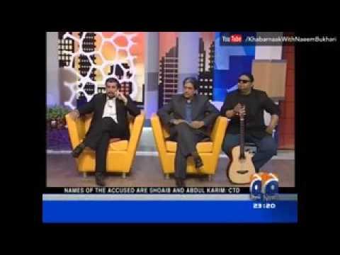 Khabarnaak    Mustafa Kamal Dummy   خبرناک   Geo News   YouTube
