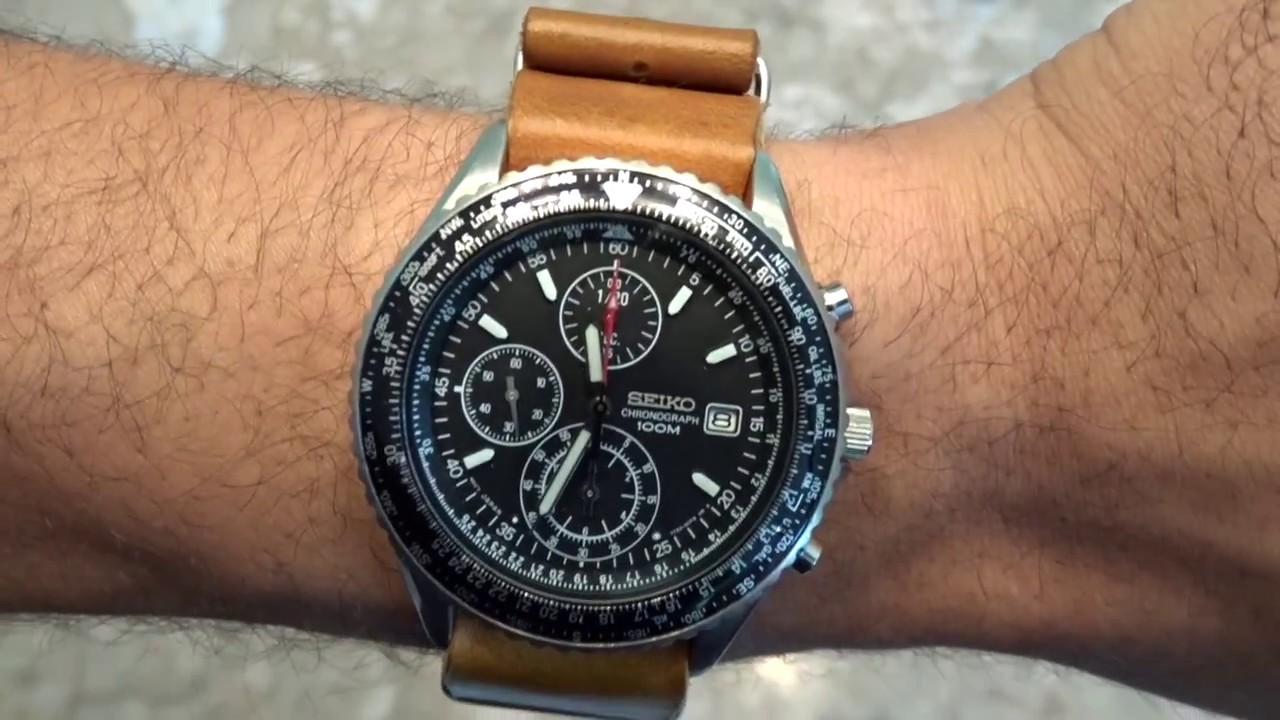Seiko Chronograph SND253P1 - 4 - YouTube