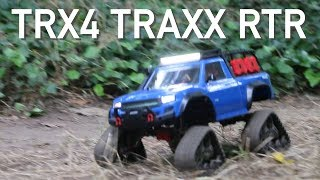 The Best TRX4 Yet? Traxxas TRX4 Sport RTR with TRAXXS