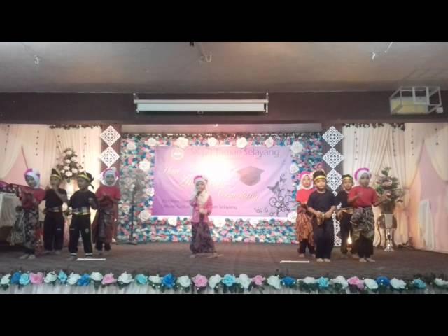 persembahan tarian dan nyanyian Desa Tercinta murid-murid prasekolah HAC SK 2 Taman Selayang