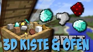 3D KISTE & OFEN MOD (Immersive Craft Mod) [Deutsch]
